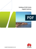 Quidway s5300 Series Switches Brochure
