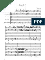 Babell Concerto 6