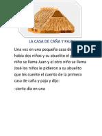 LA CASA DE CAÑA Y PAJA