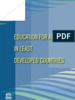 Education for All in Least Developed Contries