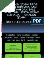 Tamadun Islam Pada Zaman Khulafa Bani Umayyah