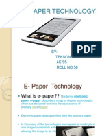 Tekson e Paper