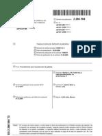 Patente de Produccion de Galletas