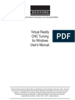 Vr Turning Software Manual