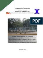 Diagnóstico Preliminar ETIR Pedro León Torres