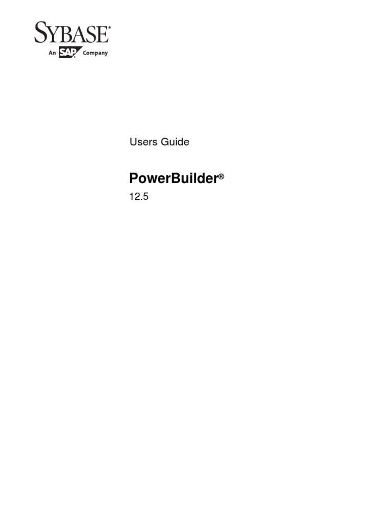 Power Builder Tutorial 125 Scripting Language – Powerbuilder Programmer