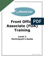 Front Office Associate Participants Guide