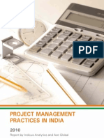 Project Management Practices in India 2010 - Report by Indicus Analytics and Ace Global