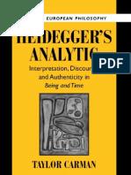 Heidegger's Analytic