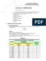 Gu+¡as de Desinfecci+¦n y Cloraci+¦n