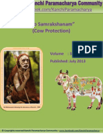 Kanchi Paramacharya Community - Go Samrakshanam (Cow Protection) -EBook # 3