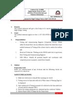 Method Statement of HV Test