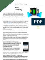 Ahorra Bateria Samsung