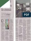 Saturday Argus Article