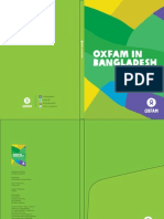Oxfam in Bangladesh Brochure and Projects Fact Sheets