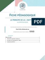 Fiche pédagogique - Le principe de la battle - Christian Rodier