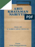 Arti Khataman Nabiyyin-h.mahmud Ahmad Cheema h.a.
