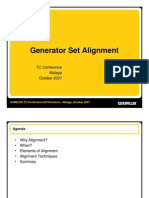 Generator Set Alignment