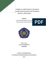 Hubungan Atrial Fibrilasi dengan Stroke Iskemik