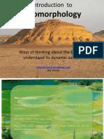 Geomorphology Introduction