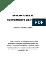 ENSAYO-CONOCIMIENTO CIENTÍFICO
