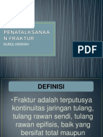 PENATALKSANAAN FRAKTUR