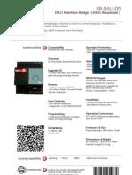 SmartBus G4 DALI (Data Sheet) V2.0