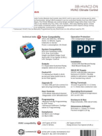 SmartBus G4 HVAC2 (Data Sheet)