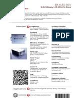 SmartBus G4 Led Sb-4led-Dcv (Data Sheet) v2.1