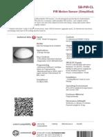 SmartBus G4 PIR Sensor (Data Sheet) V2
