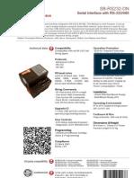 SmartBus G4 RS-232 ( Data Sheet) V2