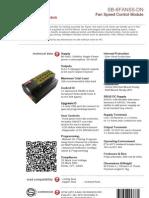 SmartBus G4 Sb-6fan5s-Dn ( Data Sheet) v2