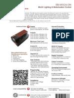 SmartBus G4 SB-Mix24-DN ( Data Sheet) V2