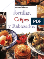 Anne Wilson - Tortillas, Crepes y Rebozados