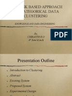 New link based approach for categorical data clustering