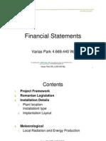 Financial Statements Varias Park SRL - ATR