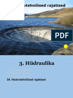 34b Hydrotehnilised rajatised