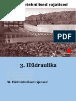 34c Hydrotehnilised rajatised