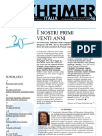 Notiziario della Federazione Alzheimer Italia