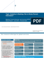Analytics in Banking