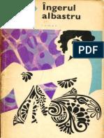 Romanul de Dragoste - Ingerul Albastru - Heinrich Mann