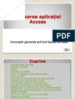 Aplicatia Access