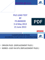 All Type of Pile Load Test