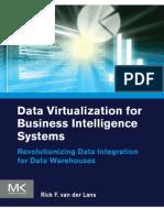 Data Virtualization Business Intelligence Systems Van Der Lans Book en US
