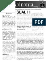 BMCF Koinonia Vol 8 Issue 3 (2013)