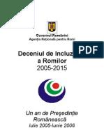 Guvern ANR_Deceniul de Incluziune a Romilor 2005-2015
