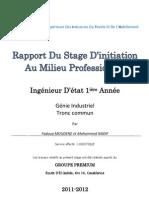 Rapport de Stage - Premium - Fadoua