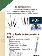 Sondas de Temperatura