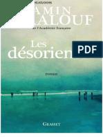 Amin Maalouf - Les Désoriontés