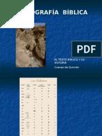 PALEOGRAFÍA BÍBLICA (Yattenciy Bonilla)